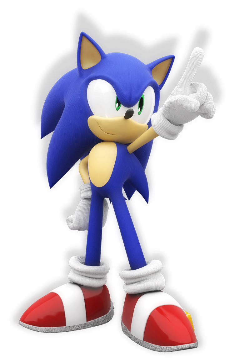 Sonic the hedgehog by mintenndo-d63688e.png - Sonic The Hedgehog PNG
