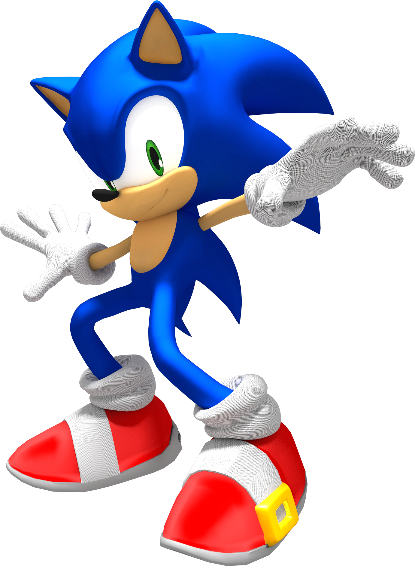 Sonic the hedgehog reupload by jogita6-d6v8qqr.png - Sonic The Hedgehog PNG