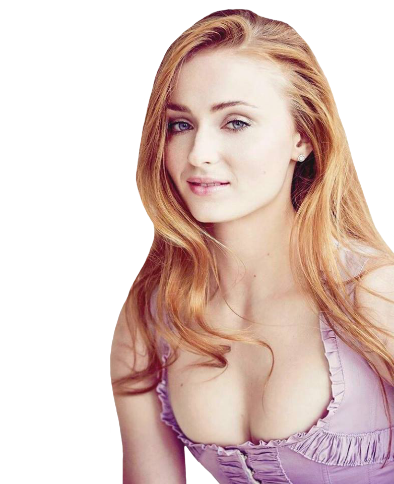 Sophie Turner PNG 1 by Isobel-Theroux PlusPng.com  - Sophie Turner PNG