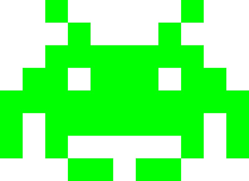Space Invaders Alien PNG Photo - Space Invaders PNG