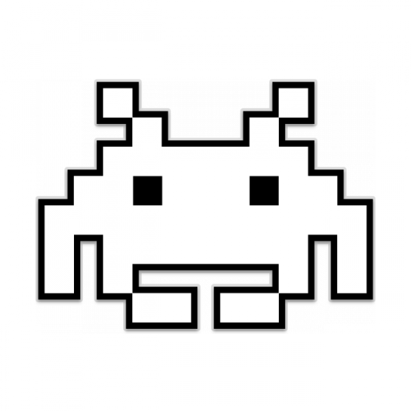 Space Invaders Alien Transparent Background PNG - Space Invaders PNG