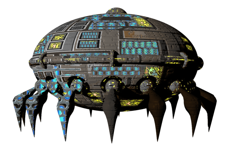 Space Ship PNG HD - 139909