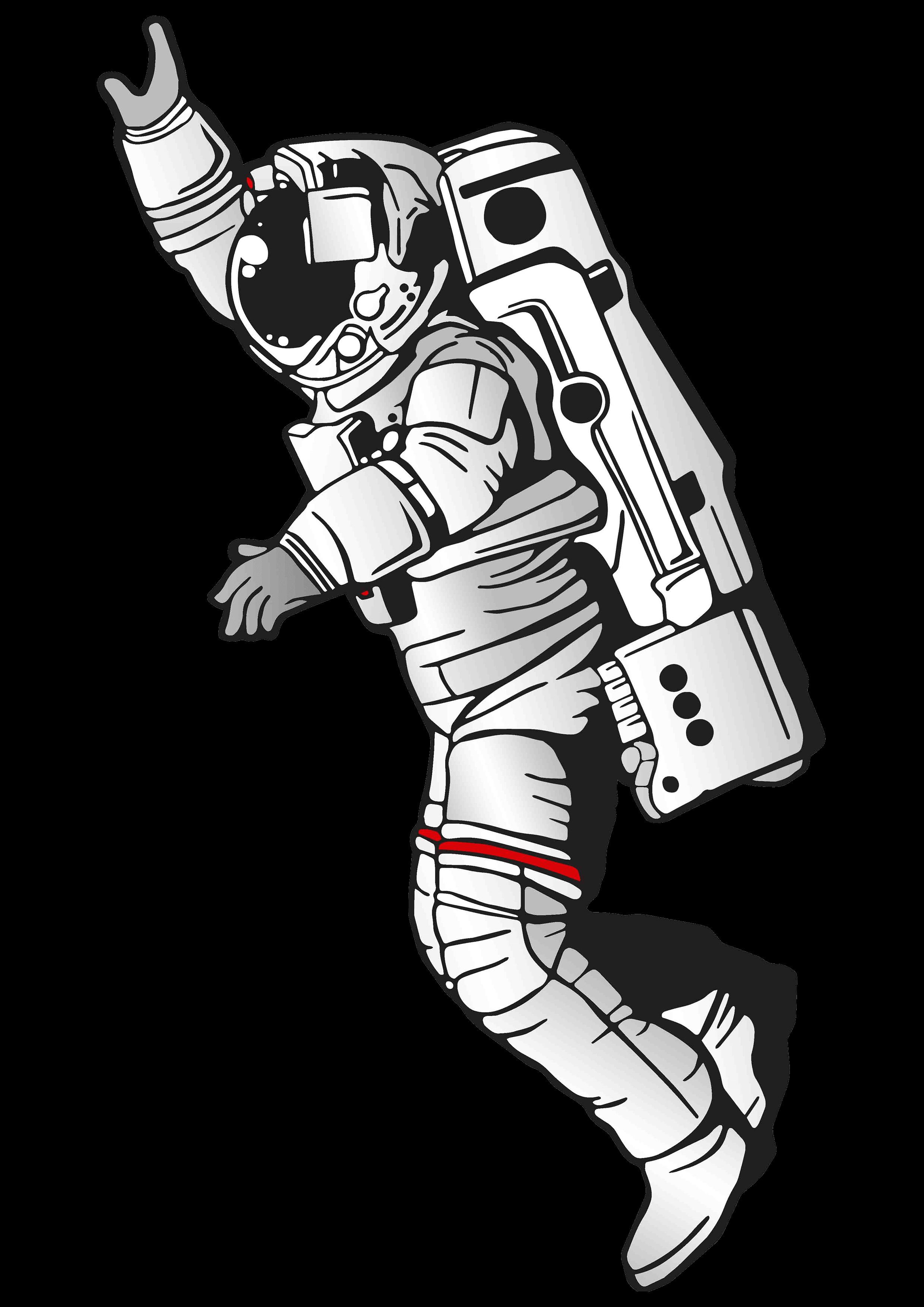Spaceman PNG HD - 142554