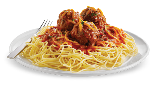 Spaghetti And Meatballs PNG HD