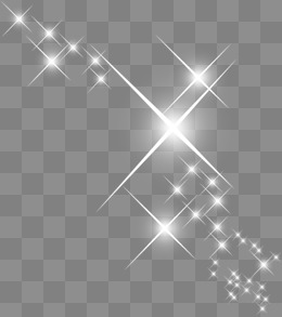 Decorative white sparkling effect - Sparkle PNG