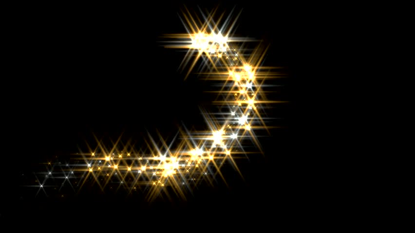 Magic Sparkles Fairy Dust Wand Particle Trail Gold Silver - HD Stock Video  Clip - Sparkle PNG HD