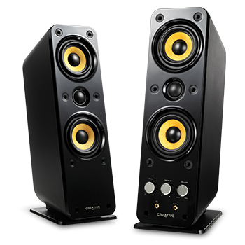 Creative Gigaworks T40 Series II 2.0 Multimedia Speaker System with  BasXPort Technology - Speaker HD PNG