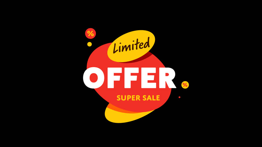 Isolated Sale Sticker With Alpha Channel. Sale Banner With Special Offer. -  HD Stock - Special Offer PNG HD
