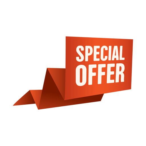 Origami special offer sale banner png - Special Offer PNG