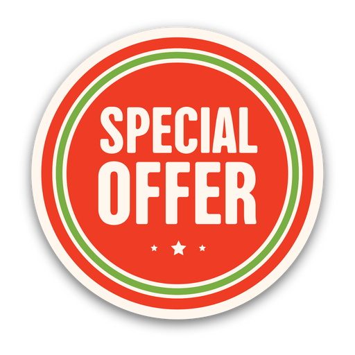 Red special offer badge png - Special Offer PNG