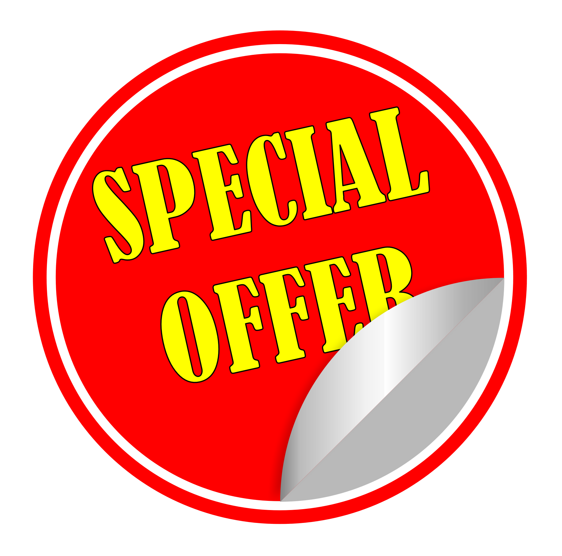 Special Offer PNG - 8473