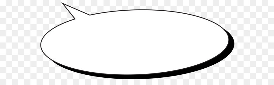 Car Circle Area Angle Black and white - Comic Speech Bubble Transparent PNG  Clip Art Image - Speech Bubble PNG