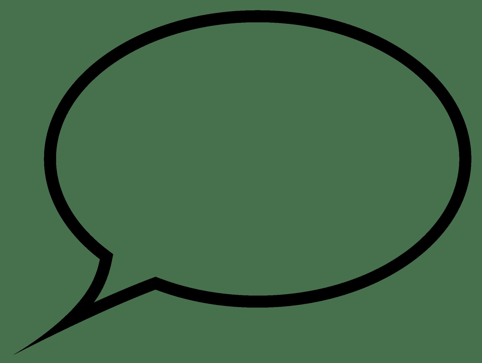Download - Speech Bubble PNG