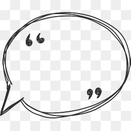 hand line speech bubble, Vector Png, Speech, Speech Bubble PNG and Vector - Speech Bubble PNG