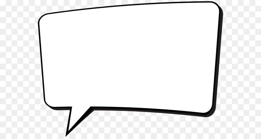 Black and white Car - Comics Speech Bubble Transparent PNG Clip Art - Speech Bubble PNG HD