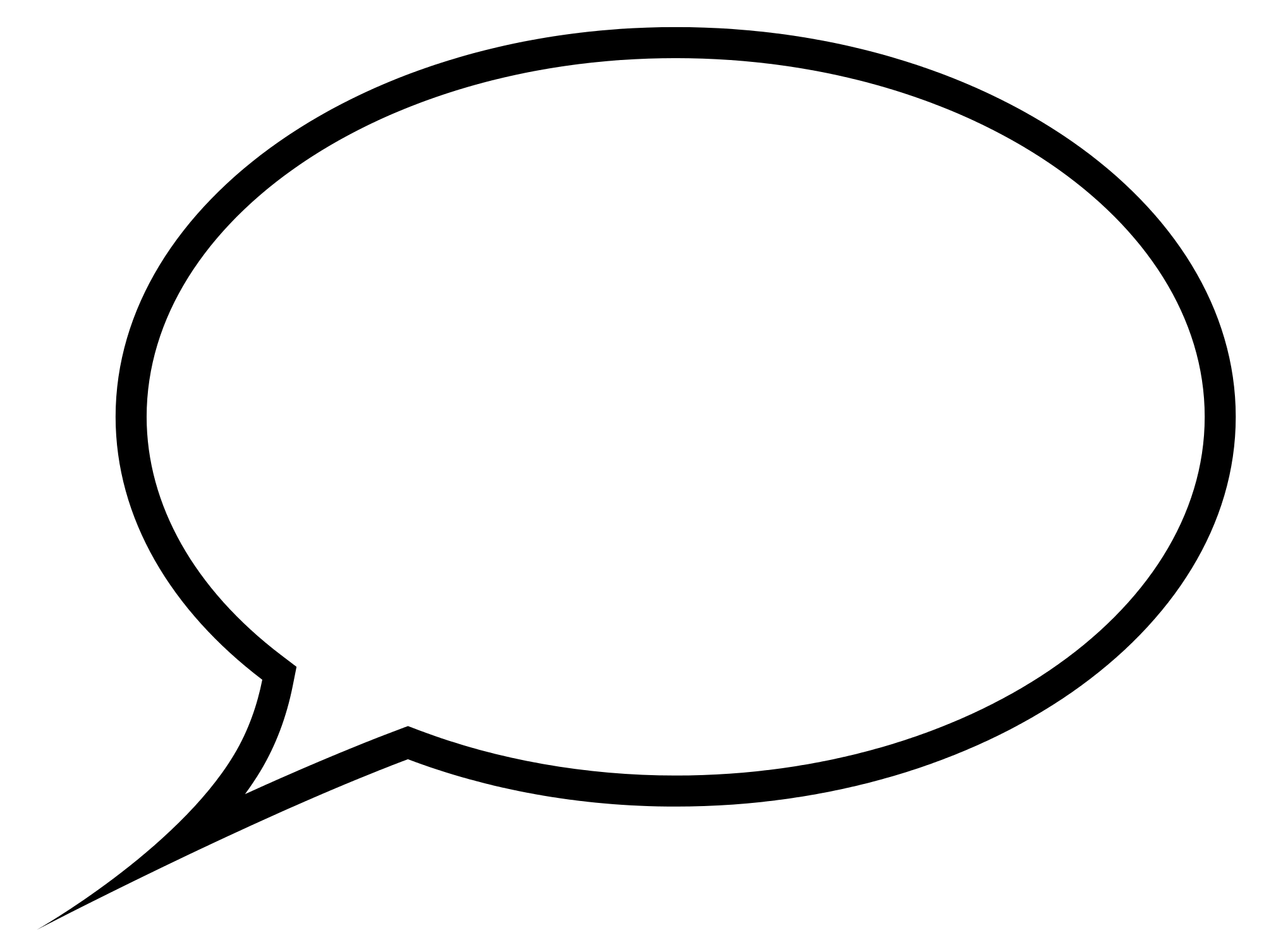 Download - Speech Bubble PNG HD