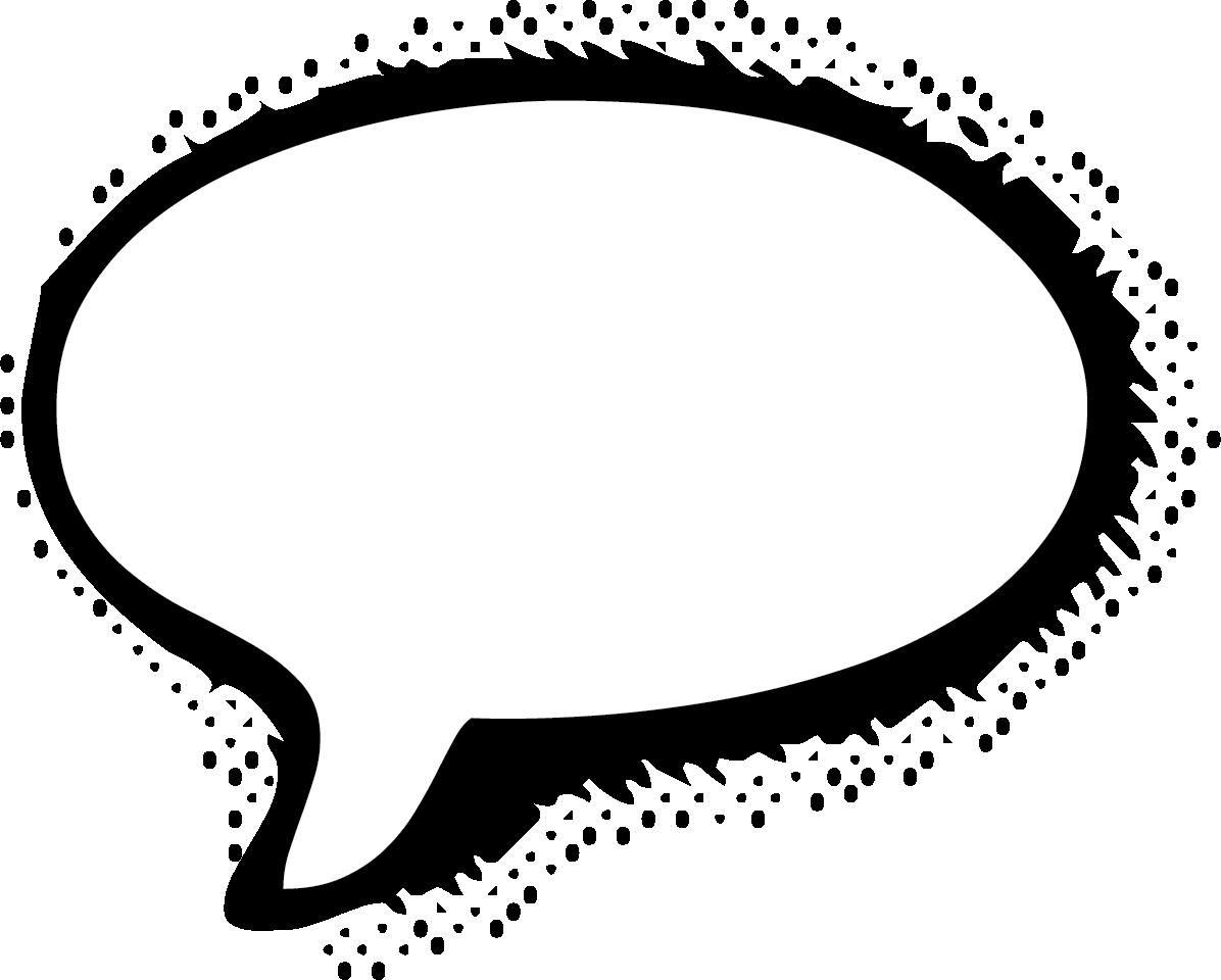 Speech Bubble PNG HD - 143735