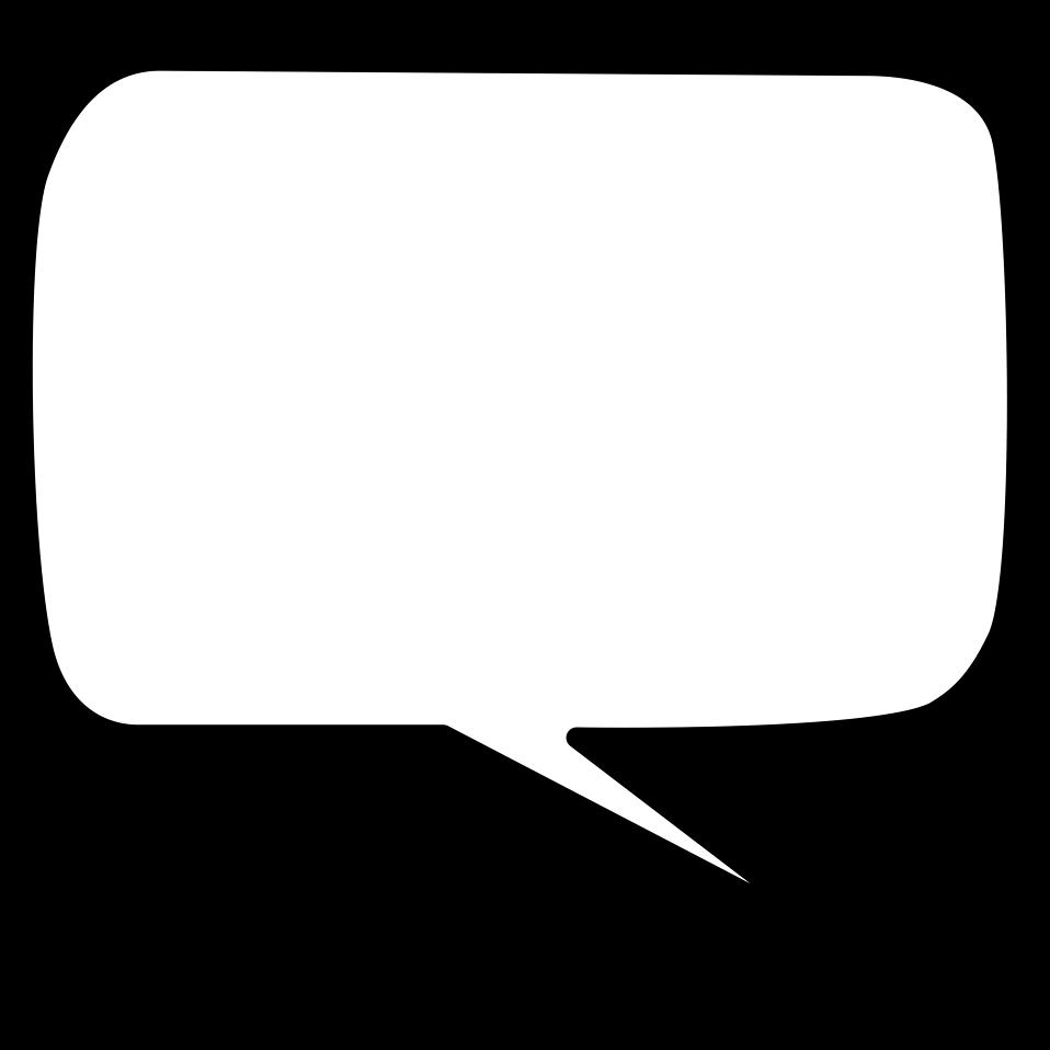Speech Bubble PNG HD - 143739
