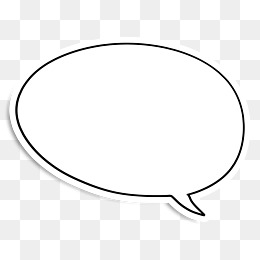 round speech bubble, Round, Bubble, Dialogue PNG Image and Clipart - Speech Bubble PNG