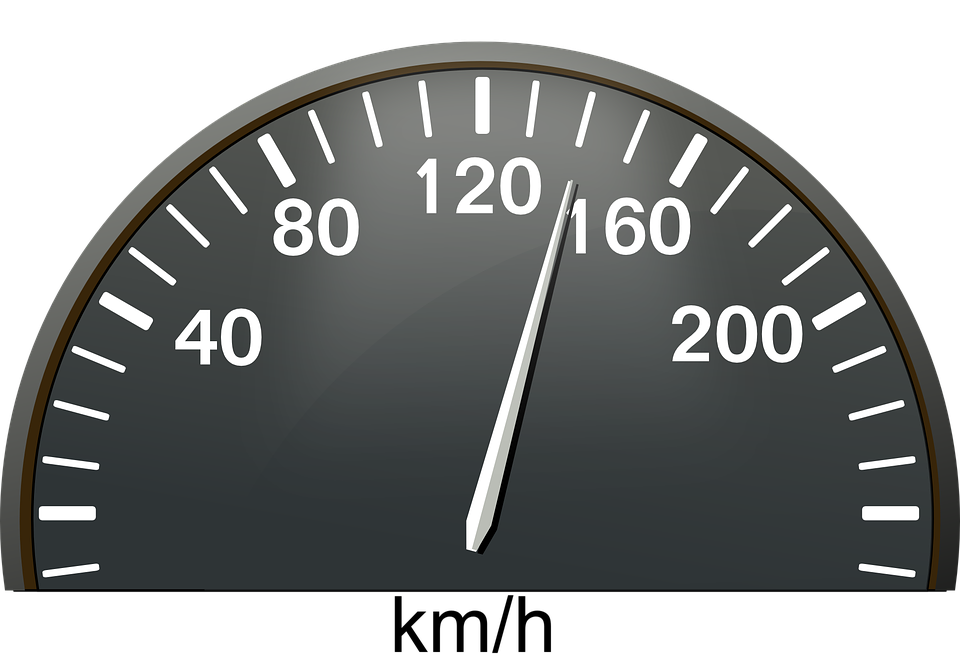 Speedometer, Kilometers, Dashboard, Speed, Kilometer - Speedometer HD PNG