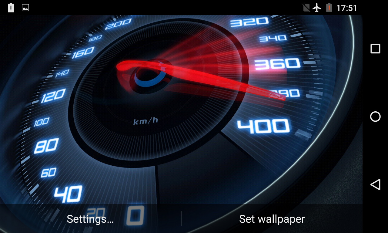 Speedometer Live Wallpaper 3D- screenshot - Speedometer HD PNG