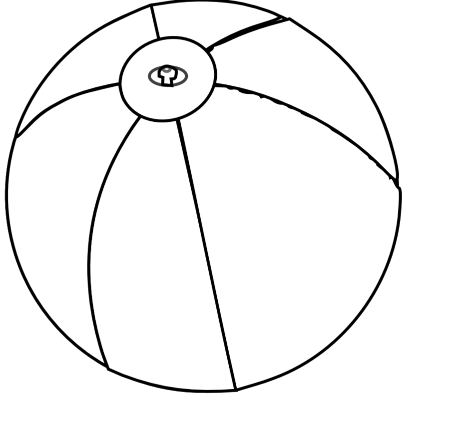 Sphere PNG Black And White - 86432