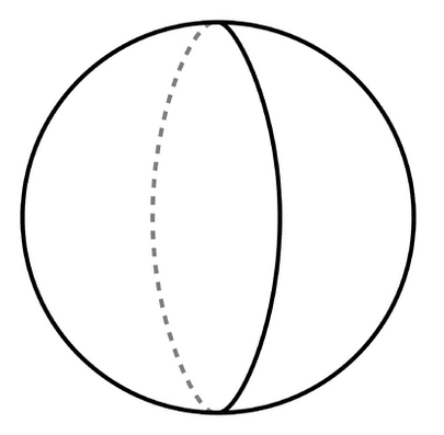 Sphere PNG Black And White - 86431