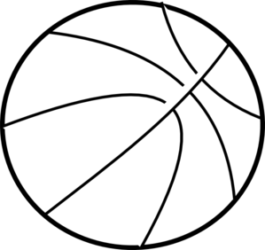 pin Black u0026 White clipart basketball #1 - Sphere PNG Black And White