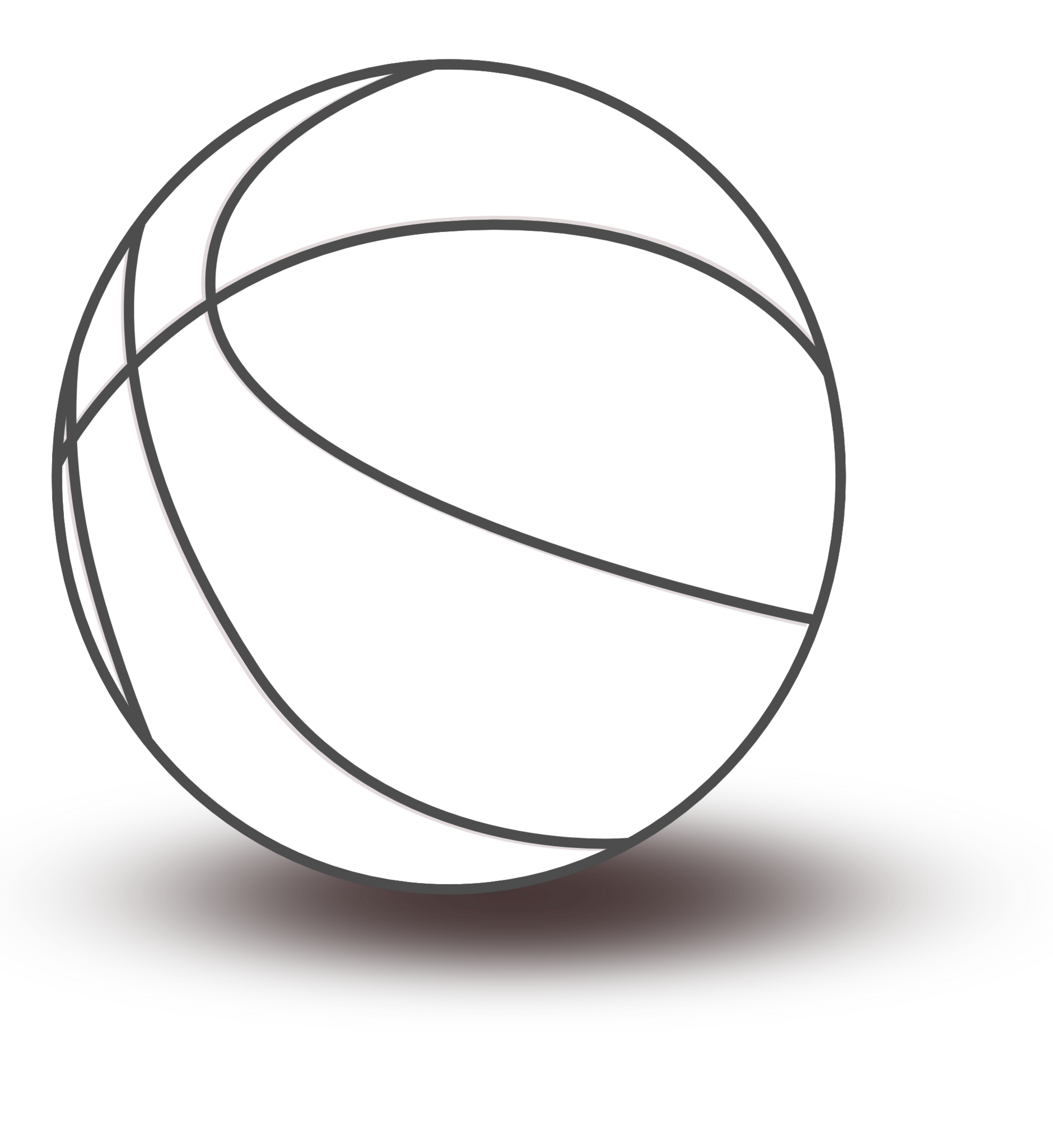 Sphere PNG Black And White - 86422