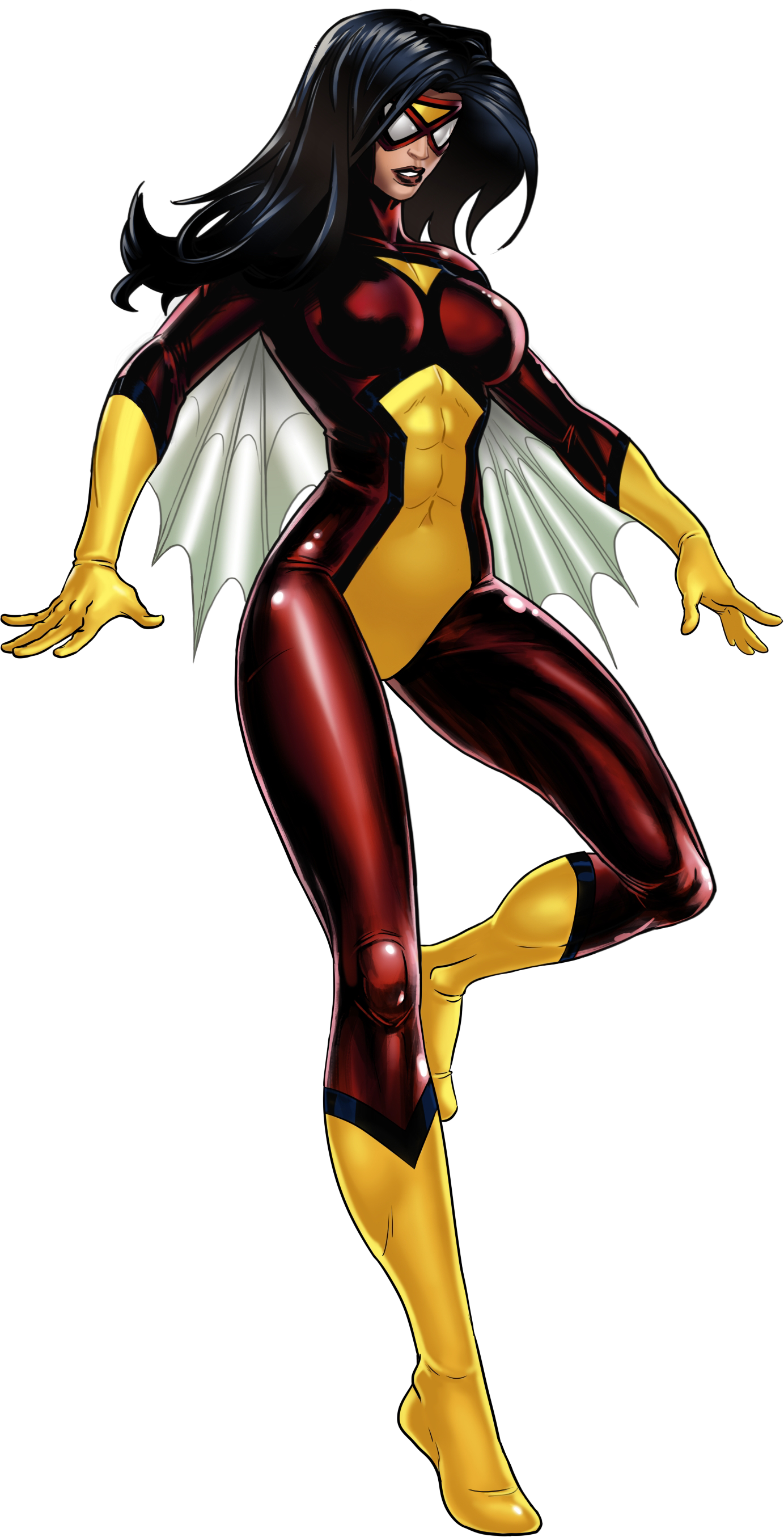 Image - Spider-Woman Portrait Art.png | Marvel: Avengers Alliance Wiki |  FANDOM powered by Wikia - Spider Woman PNG