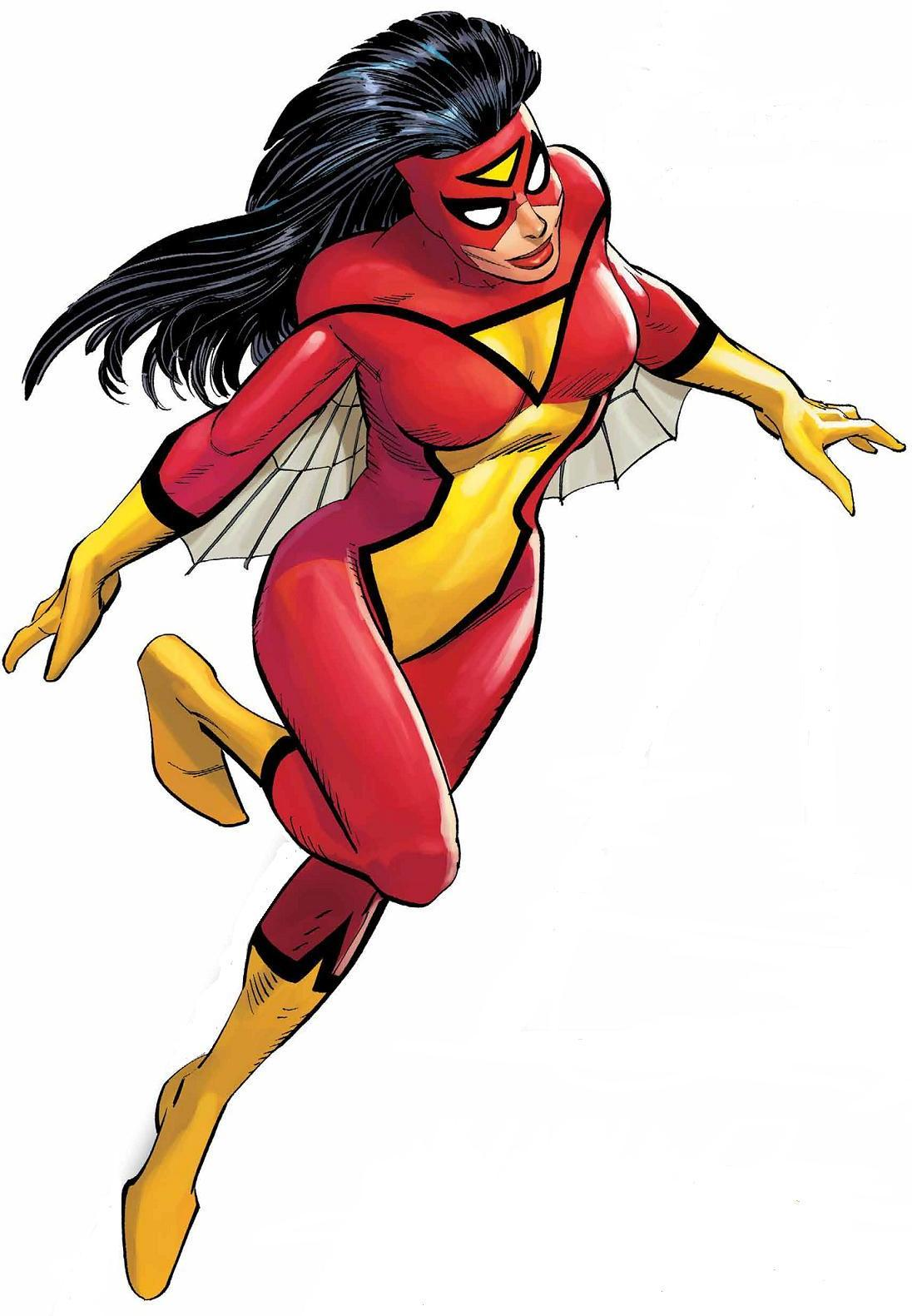 No Caption Provided - Spider Woman PNG