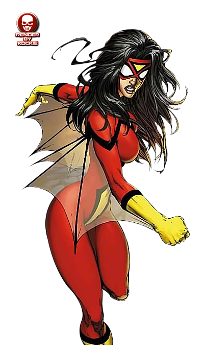 Spider Woman PNG - 26360