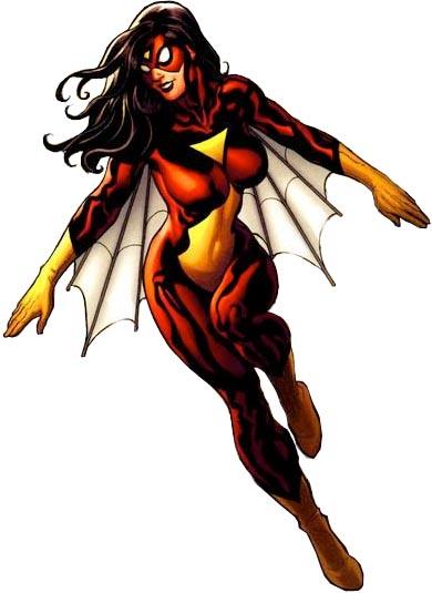 Spider Woman Jessica Drew.jpg - Spider Woman PNG