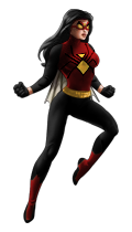 Spider-Woman-Modern.png - Spider Woman PNG