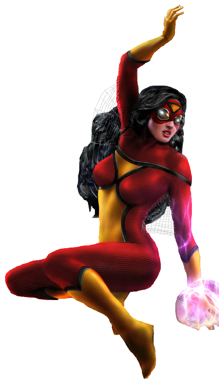 Spider Woman PNG - 26354