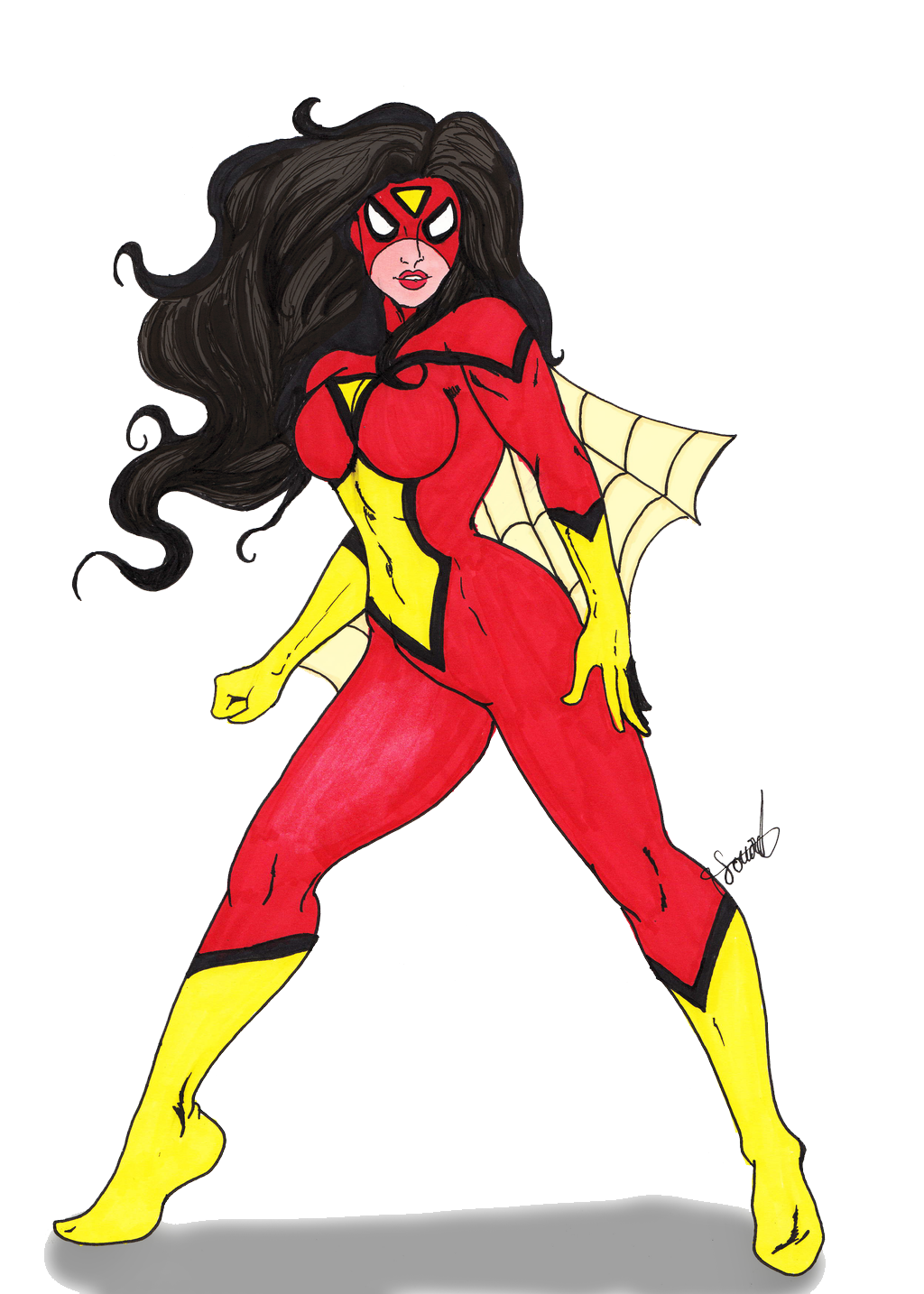 Spider Woman PNG - 26352