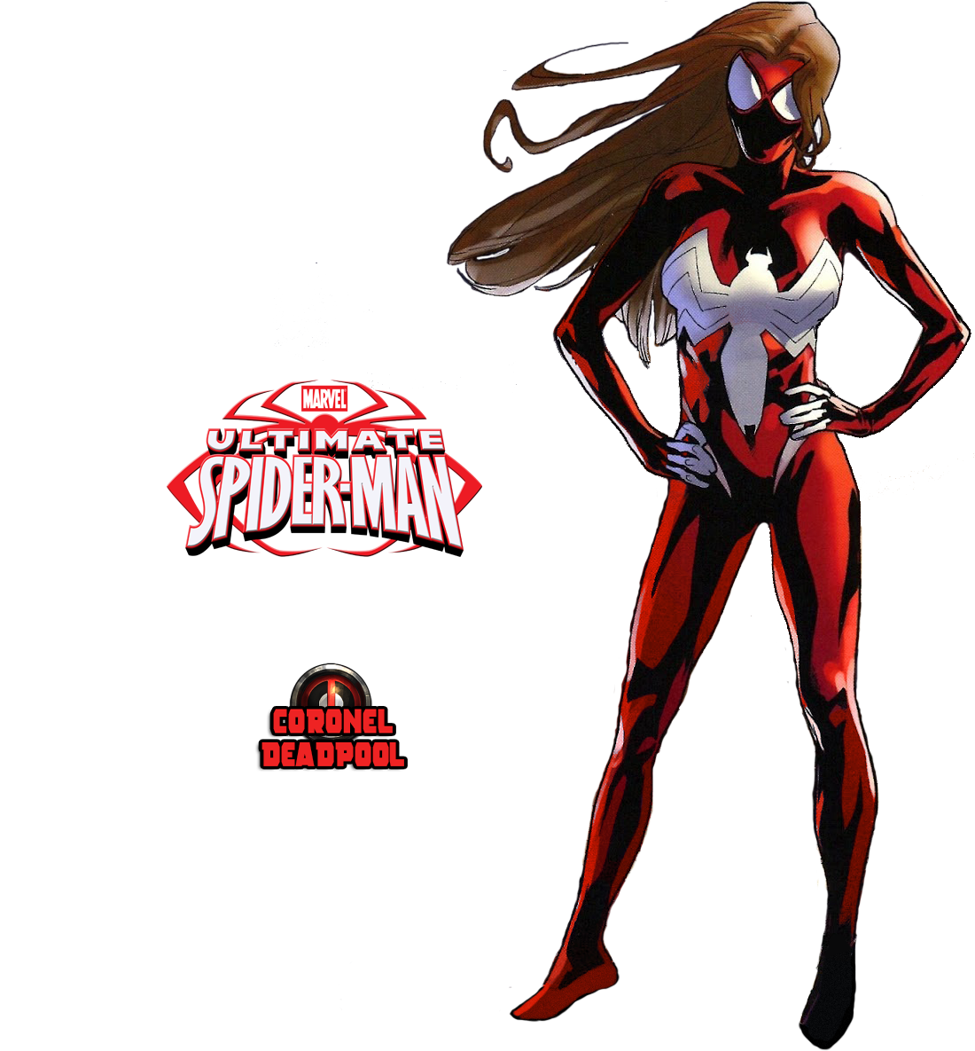 . PlusPng.com TheSuperiorXaviruiz Ultimate Spider-Woman Png by TheSuperiorXaviruiz - Spider Woman PNG
