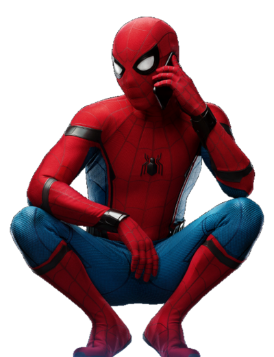 Spider-Man: Homecoming PNG 32 by sidewinder16 PlusPng.com  - Spiderman HD PNG
