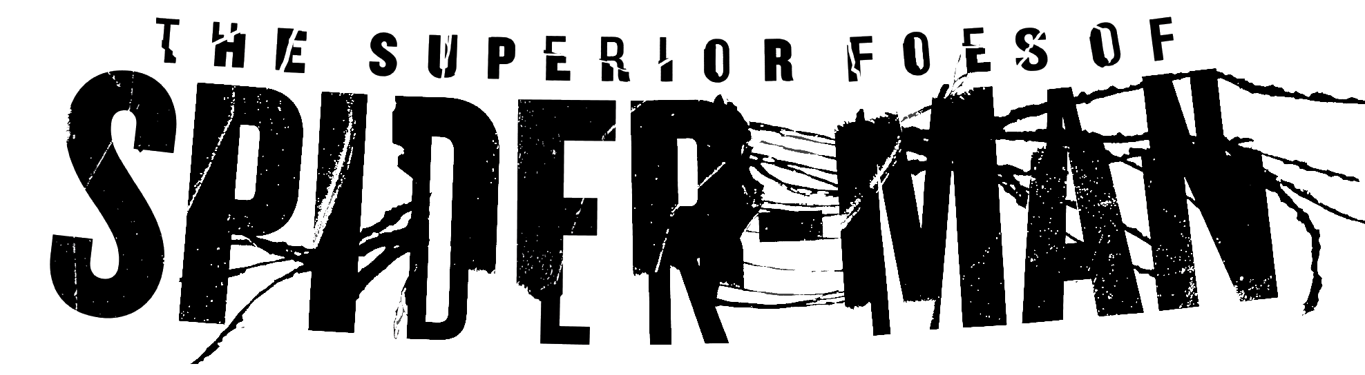 The Superior Foes of Spider-Man (2013) Logo.png - Spiderman Logo PNG