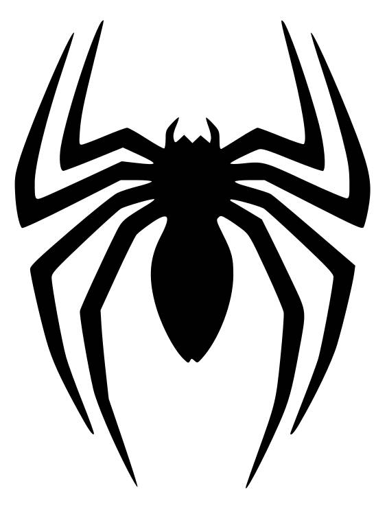 This is a digital file - Spiderman Logo PNG