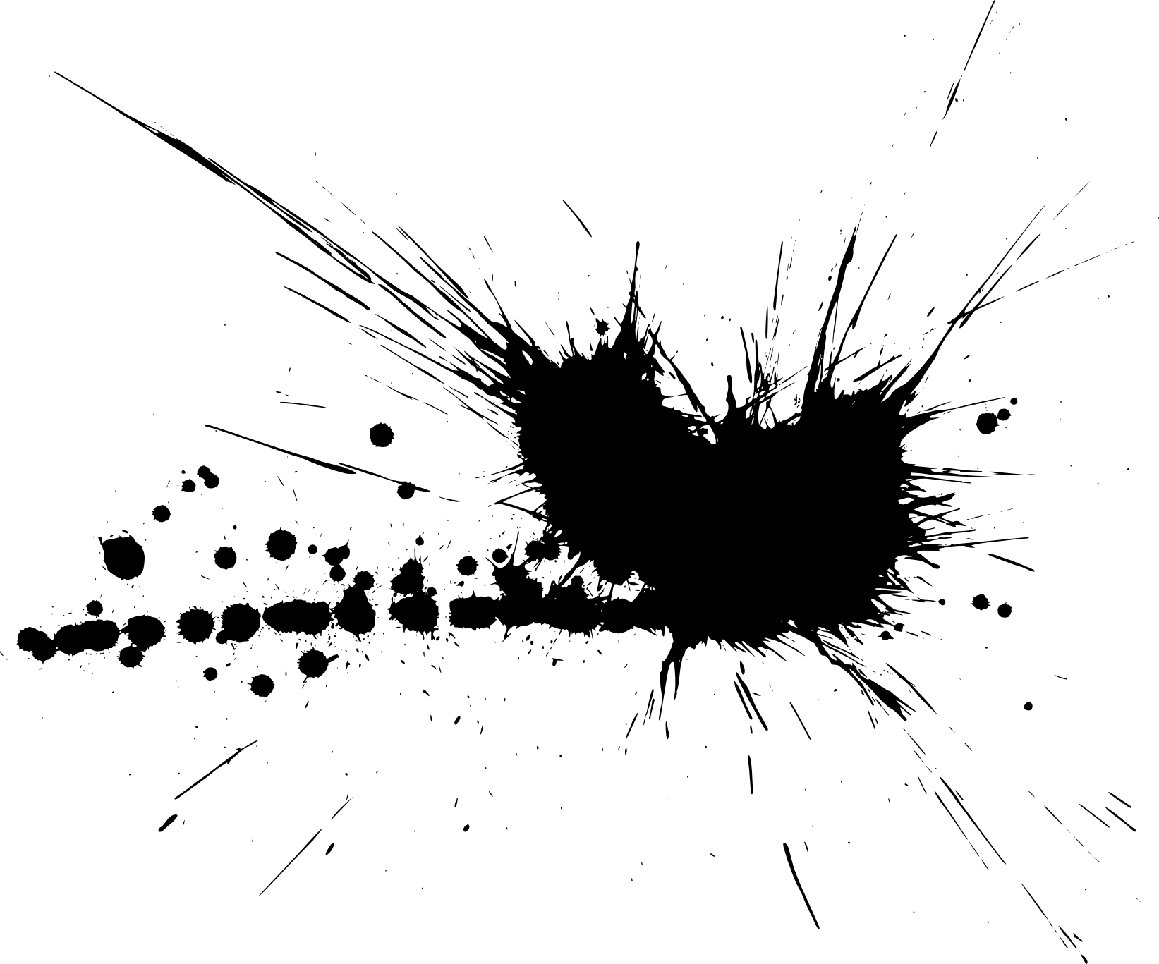 Splatter PNG Transparent Splatter.PNG Images. | PlusPNG