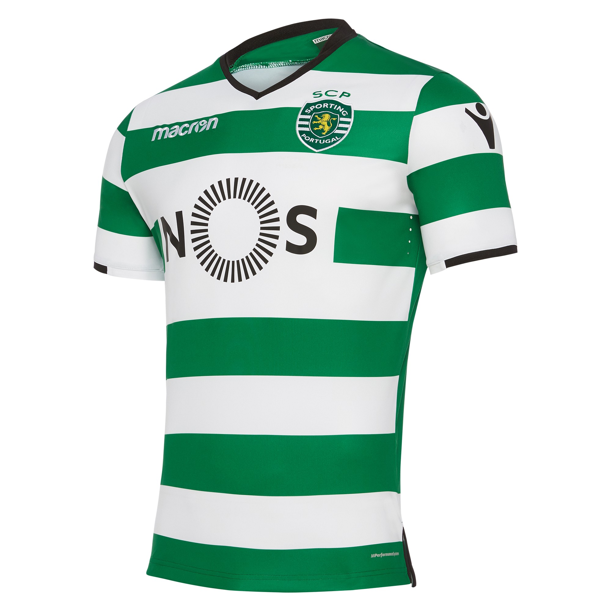 Sporting clube de portugal 2017/18 adultsu0027 home match jersey - Sporting Clube De Portugal PNG