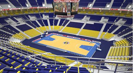 Fenerbahçe Kulübü ile sponsor firma Ülkeru0027in iş birliğinde, Ataşehiru0027de  satın alınan arazi üzerine inşa edilen dev spor kompleksi Ülker Sports Arenau0027da  PlusPng.com  - Sports Arena PNG