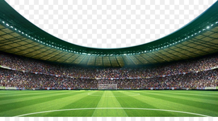Football pitch Stadium Arena - Soccer Field Arena Lawn - Sports Arena PNG