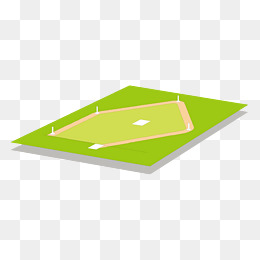 vector green baseball sports contest venue, Vector, Cartoon Hand Painted,  Stadium PNG and - Sports Arena PNG