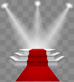 stage lighting red carpet, AI, Podium, Light PNG and Vector - Spotlight PNG HD Free