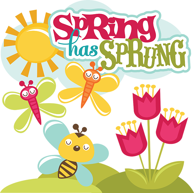 Spring Has Sprung SVG scrapbook collection svg files for scrapbooks spring  cut files for scrapbooking - Spring Has Sprung PNG
