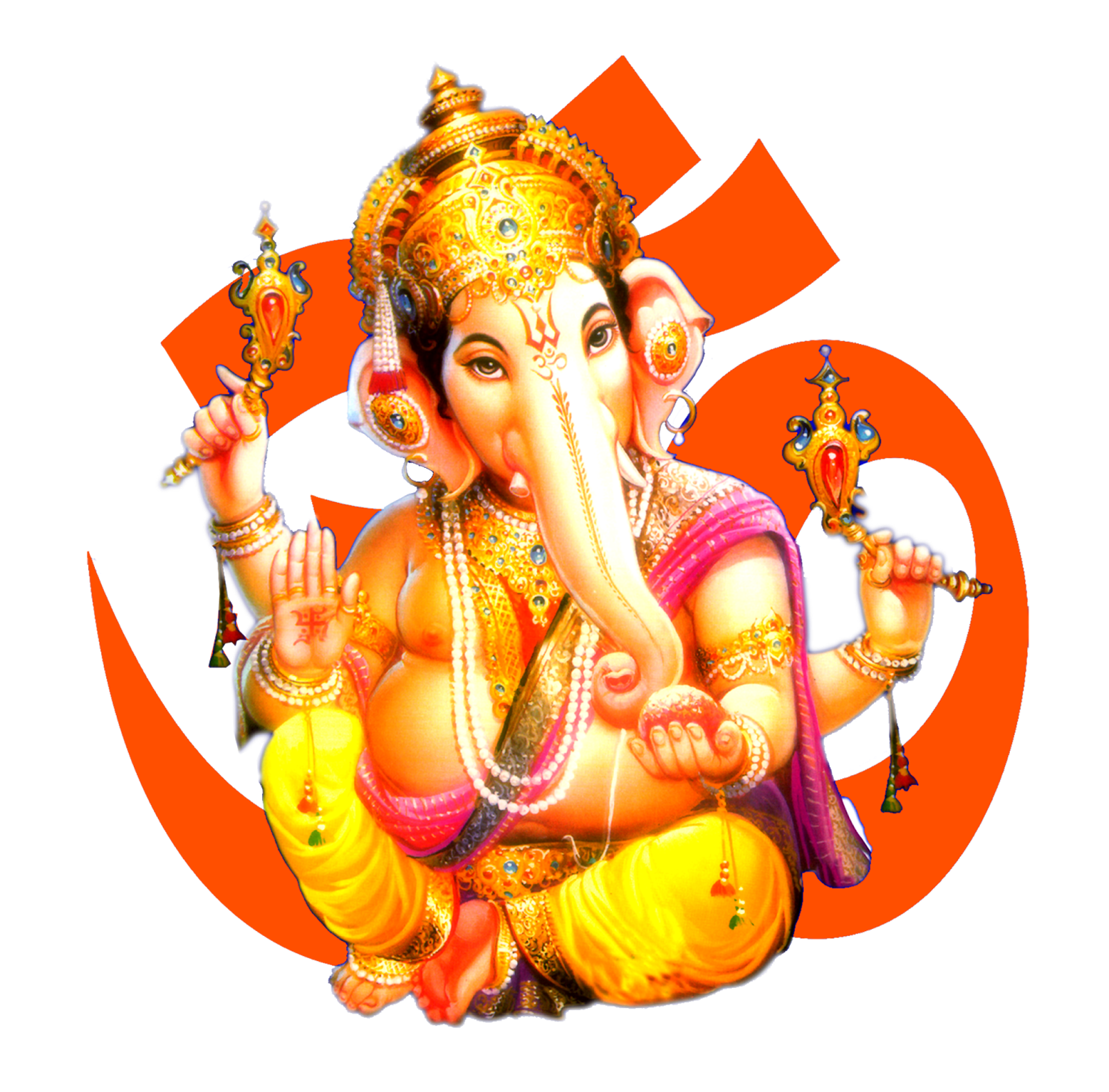 Lord Ganesha png picture with