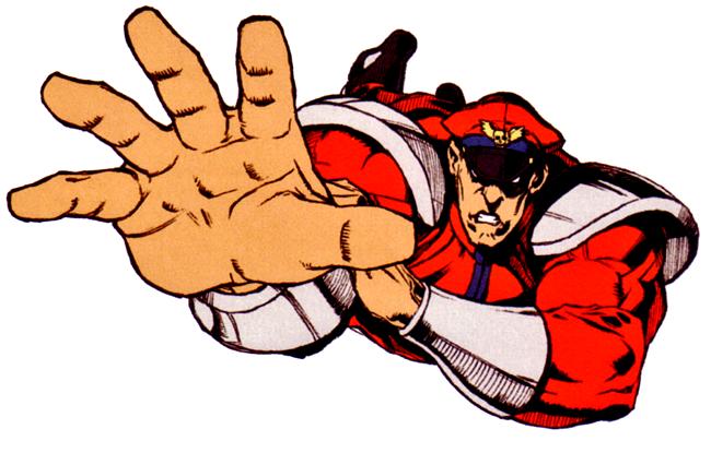 SSFIITRBison2.png - Street Fighter PNG