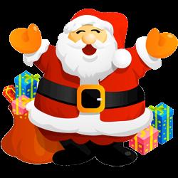 Cartoon drawing of Santa Claus - St Nicolas HD PNG